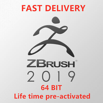 ZBrush 2019 3D  x64 MULTI LANGUAGE✔️ FULL VERISION✔️LIFETIME PRE-ACTIVATED ✔️