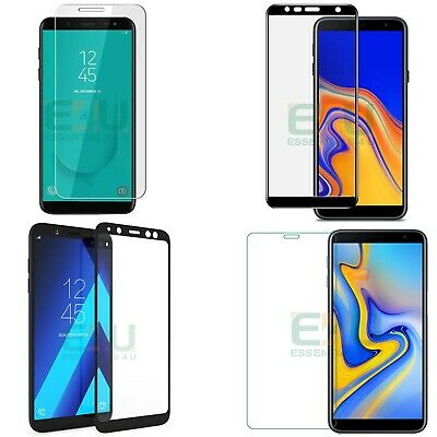 9H Tempered Glass Screen Protector Cover For Samsung Galaxy J4+ J6+ Plus J6 2018