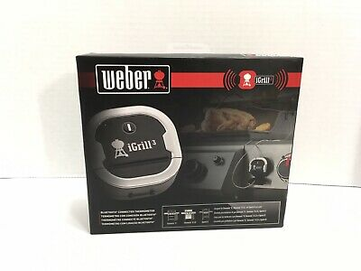 Weber 7204 iGrill 3 Bluetooth Thermometer, Brand New, Free Shipping