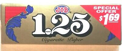JOB Gold 1 1/2 1.5 Rolling Papers Buy 4@ ONLY $1.96/PK! *Great Prices*
