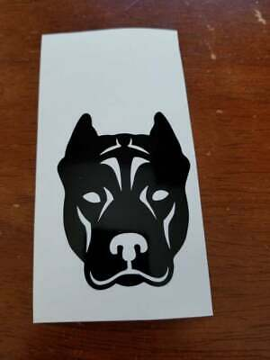 Molon Labe Pit Bull L239 dog 8 inch bully sticker decal