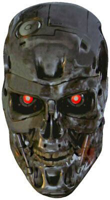 """1984 Funny /""""DRIVER IS A CYBERNETIC ORGANISM/"""" The Terminator STICKER prop T-800"""
