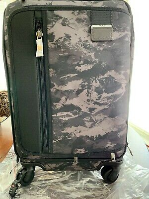 New Tumi Merge Continental 2228661 Carryon Suitcase Charcoal Restoration Rare