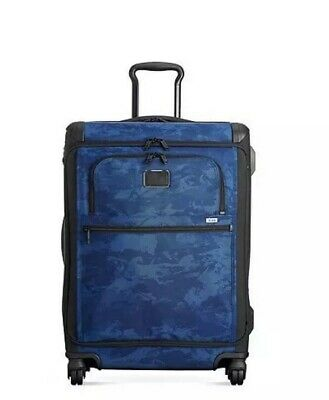 NEW Tumi Front Lid International Carry On Luggage Case Navy Restoration $675