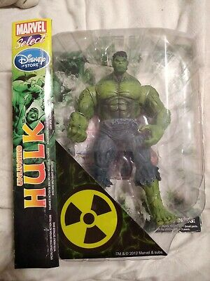 Marvel Diamond Select Unleashed Hulk  DISNEY STORE EXCLUSIVE. Non Mint