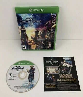 Kingdom Hearts III 3 for Xbox One Very Good Condition