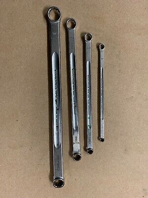 "Stahlwille HPQ 220 4 Set 1/4"" - 3/4"" Extra Long Double Ended Ring Spanner"