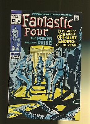 Fantastic Four 87 VF 7.5 * 1 Book * Power & The Pride by Stan Lee & Jack Kirby!