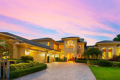 BOCA RATON, FLORIDA SEALED BID AUCTION: LUXURIOUS and EXQUISITE 7400 SF MANSION