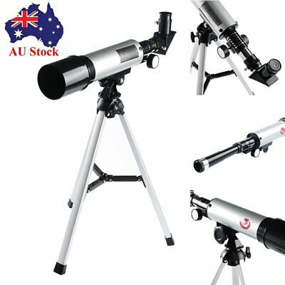 AU 90x Zoom Refraction Monocular Astronomical Telescope Spotting Scope 360x 50mm