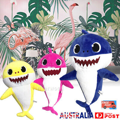2019 Soft Baby Shark Plush Toys Doll Toy Gift Cute Baby Toy Funny Time AU