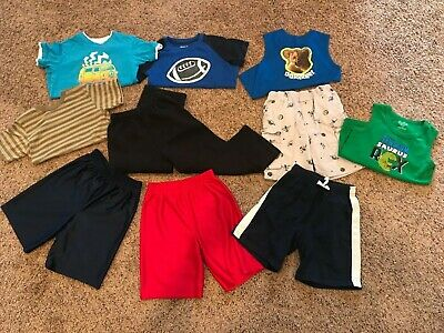 Lot of 10 Garanimals Shirts/Shorts boys size 5T