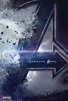"NEW: Marvel Studios' Avengers: Endgame Teaser Double Sided Poster 27"" x 40"" FS"