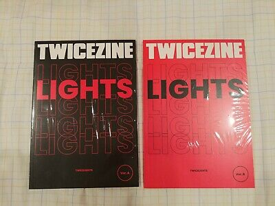 TWICE WORLD TOUR 2019 [TWICE LIGHTS] Official MD TWICEZINE A and/or B VERSION
