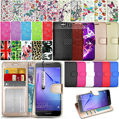For Honor 6A 6X Phone Case Protector Wallet Leather Case Flip Cover Fashion Book