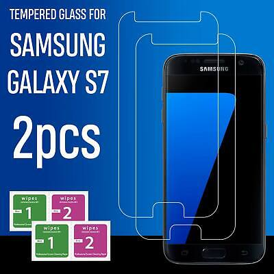 Tempered Gorilla Glass Screen Protector Protection For Samsung Galaxy S7
