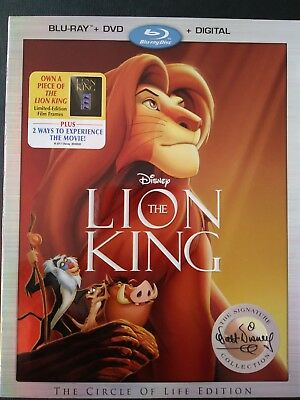 Disney The Lion King (BR+DVD+ Digital Copy) WITH SLIPCOVER