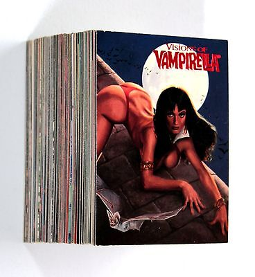 VISIONS OF VAMPIRELLA 1995 Topps Complete 90 Base Cards Set NM Trading Cards