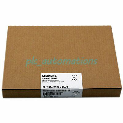 New In Box Siemens Processor Unit 6ES7 414-2XK05-0AB0 One year warranty