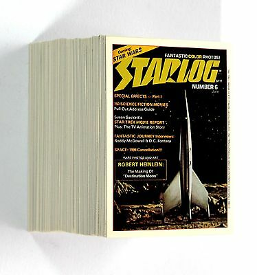 STARLOG 1993 Spacescape Communications 100 Base Cards Set NM Sci-Fi Magazine