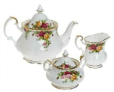 Royal Doulton 652383203570 Old Country Roses 3-Piece Tea Set
