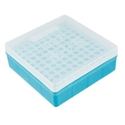 Plastic Square 100 Positions Laboratory 1.5ml Centrifuge Tube Case Box M3P2