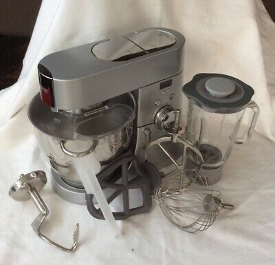 Kenvood Chef Major Titanium Km 040, Robot Da Cucina Con Frullatore E Display