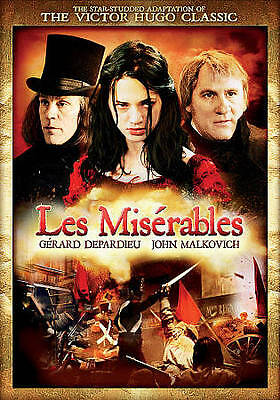 LES MISERABLES (1958) - Jean Gabin 2-Disc DVD *NEW - $9 80