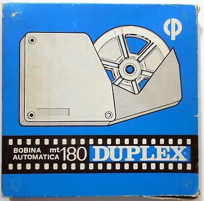 VINTAGE BOBINA AUTOMATICA MT.180 FT. 600 DUPLEX for film SUPER 8