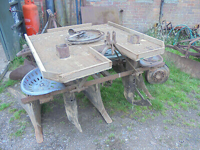 Ferguson Potato Planter 2 Row Tractor Mounted, Complete With Bell