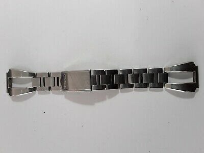 SEIKO F0K0AZ-E stainless bracelet for Seiko Rally watches, original, used.