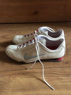 san francisco 7e9d2 be265 Ladies NIKE Rival Shox Beige Rossi Running Trainers Size 5.5