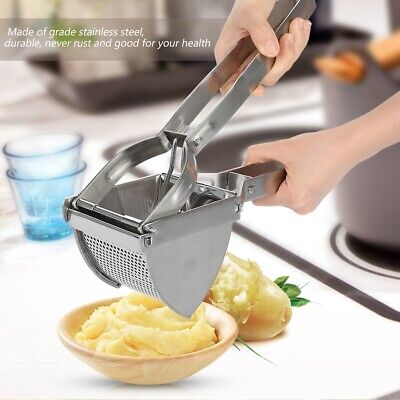 Potato Masher Ricer Fruit Super Multi-purpose Press Stainless Steel Kitchen Tool