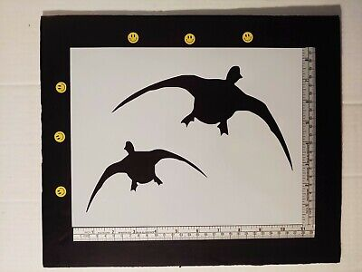 "Ducks Flying Duck Fly 11"" x 8.5"" Custom Stencil FAST FREE SHIPPING"