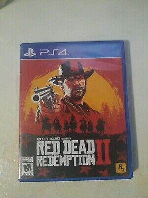 Red Dead Redemption 2 II PS4 - (Sony PlayStation 4) Rockstar Games