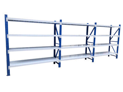 6M Length Warehouse Racks Storage Steel Shelving Garage Shelf Racking Shelves