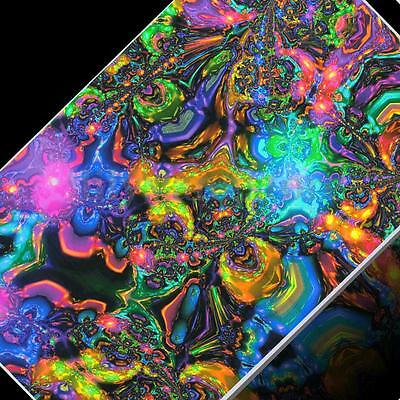 """Trippy Psychedelic Art Fabric Poster 21 x 13/"""" T53"""