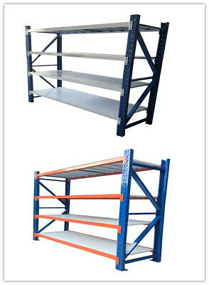 1.5M Length 0.5m Deep Warehouse Storage Steel Shelving Garage Racking Shelves