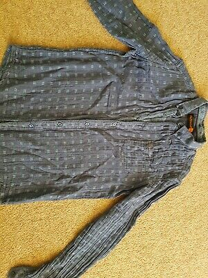 BEN SHERMAN boys summer shirt blue size 12