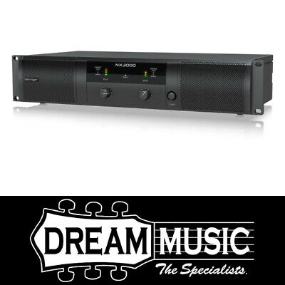 Behringer NX3000 Power Amplifier w/Smartsense SAVE $80 off RRP$529