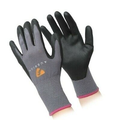 Shires Aubrion All Purpose Yard Gloves Stable Mucking Out Lightweight Equestrian