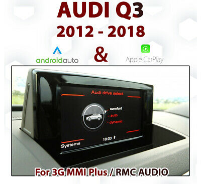 AUDI A7 2012 - 2017 3G MMi Integrated Touch Android auto & Apple