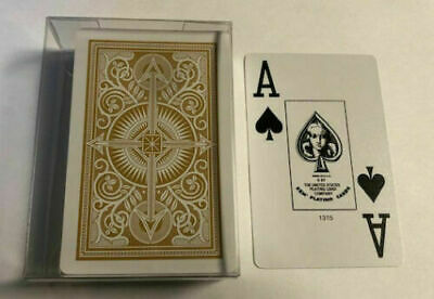 KEM Playing Cards Single Deck In Plastic Box