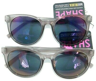 Lot of 2 Foster Grant Sunglasses SHAPE AFH 5 Mint Green with Mirrored lenses