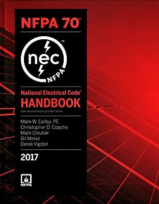 National Electrical Code 2017 Handbook, ISBN-13:  9781455912841 (NEW)