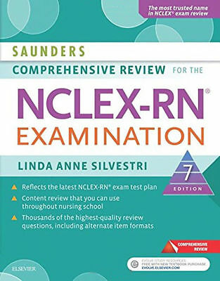 Saunders Comprehensive Review for the NCLEX-RN Examination ISBN:9780323358514
