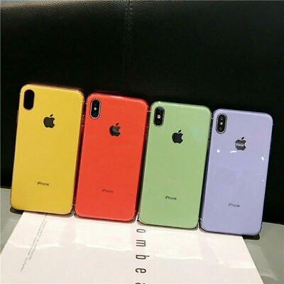 Luxury Planting Ultra Slim Soft TPU Case Cover For iPhone XS Max XR X 7 8 Plus 6