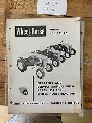 ORIGINAL-Wheel-Horse-401-551-701-Operator Wheel Horse Manuals Wiring Diagrams on wheel horse ignition wiring, wheel horse exhaust, wheel horse maintenance, wheel horse lights, wheel horse alternator, wheel horse snowmobile, wheel horse automatic transmission, wheel horse belt diagram, wheel horse electrical manuals, wheel horse parts diagram, wheel horse wiring harness, wheel horse solenoid, wheel horse troubleshooting, wheel horse ignition diagram, wheel horse battery, wheel horse repair, wheel horse wheels, wheel horse service, wheel horse transaxle diagram, wheel horse brakes,