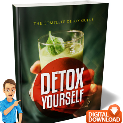 Detox Yourself e. Book - Juice Diet & Detoxification Lose Weight Guide + MRR