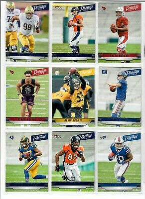 2019 Panini Prestige Football SHORT PRINT ROOKIE RC U Pick KYLER JONES HASKINS +